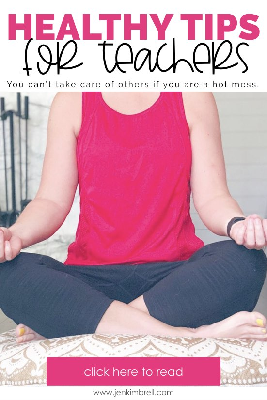 healthy tips for teachers includes ideas for meditation during morning routine