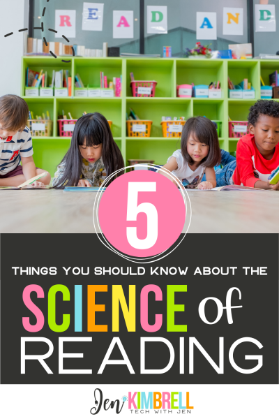 students at desk reading books in a classroom 5 things you should know about the science of reading